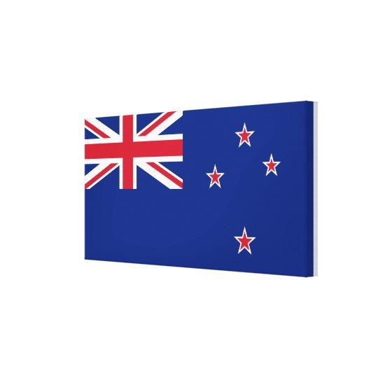 New_Zealand National World Flag Canvas Print