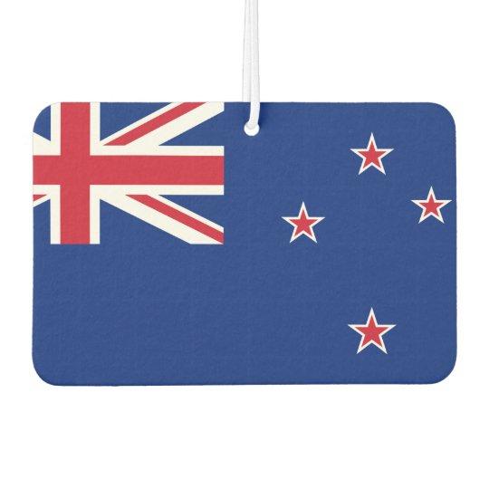 New_Zealand National World Flag Car Air Freshener
