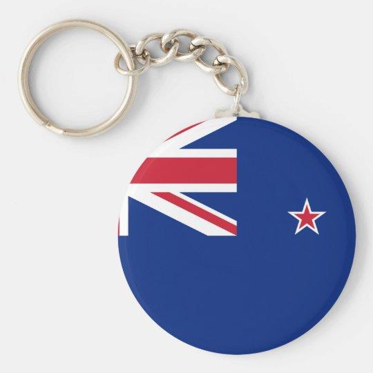 New_Zealand National World Flag Key Ring
