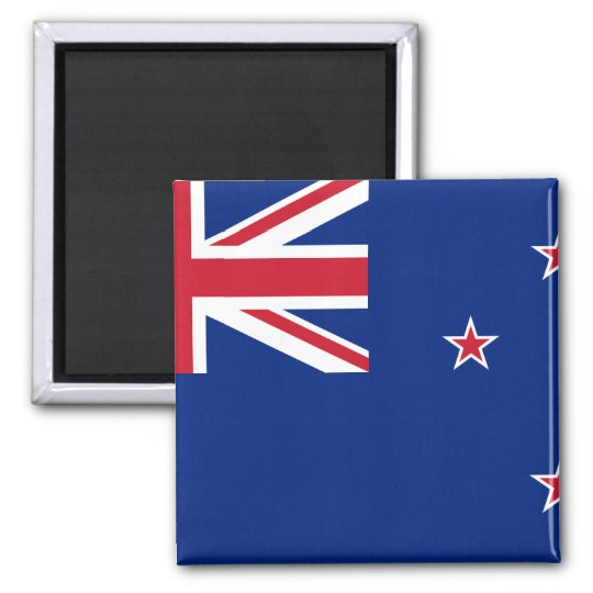 New_Zealand National World Flag Magnet