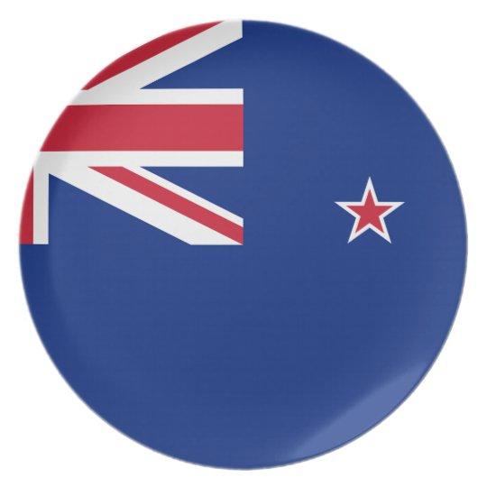 New_Zealand National World Flag Plate