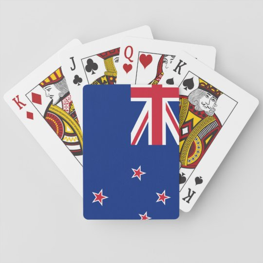 New_Zealand National World Flag Playing Cards