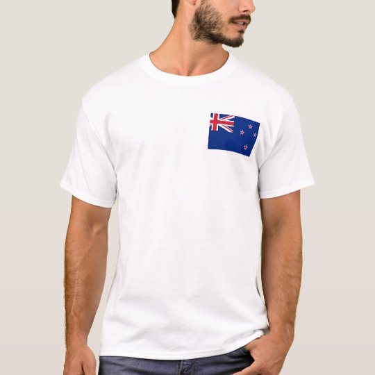 New_Zealand National World Flag T-Shirt