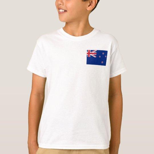 New_Zealand National World Flag T-Shirt