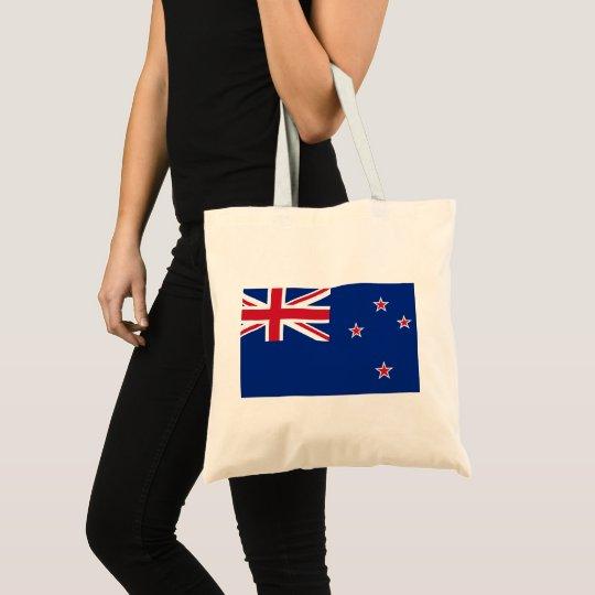 New_Zealand National World Flag Tote Bag