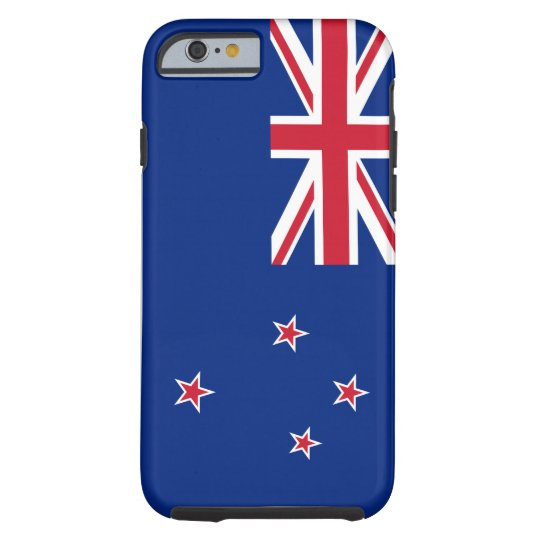 New_Zealand National World Flag Tough iPhone 6 Case