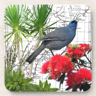 New Zealand Native Bird Coaster Set