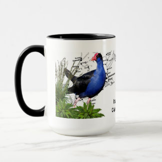 New Zealand Native Bird Coffee Mug