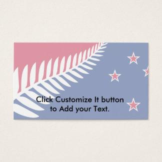 New Zealand, New Zealand Business Card