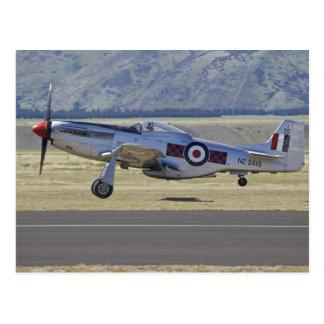 New Zealand, Otago, Wanaka, Warbirds Over 4 Post Card