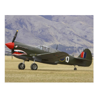 New Zealand, Otago, Wanaka, Warbirds Over 5 Postcard