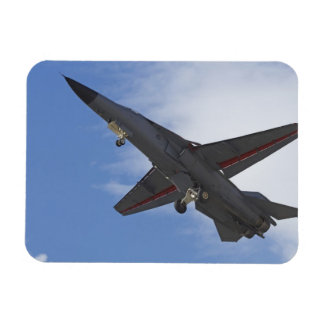 New Zealand, Otago, Wanaka, Warbirds Over Rectangular Photo Magnet