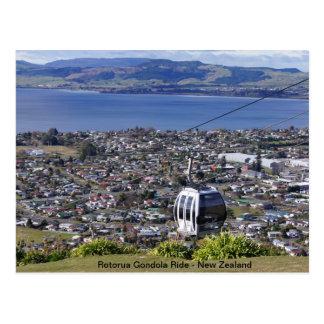 New Zealand Post Card - Rotorua