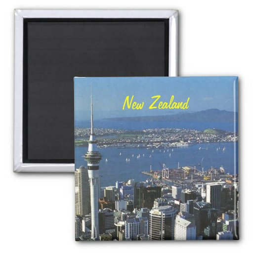 New Zealand postcards Magnet