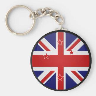 New Zealand quality Flag Circle Key Ring