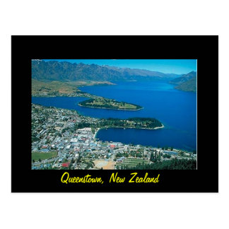New Zealand Queenstown postcard