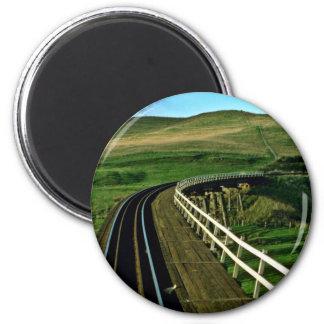 New Zealand Rail En Route To Wellington Magnets