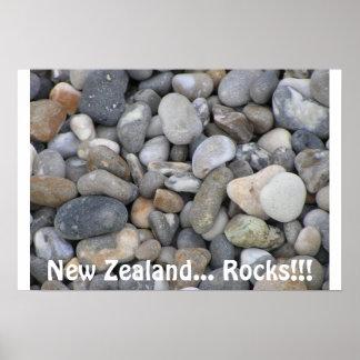 New Zealand... Rocks!!! Poster