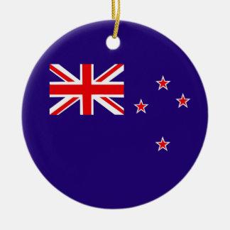New Zealand Round Ceramic Decoration