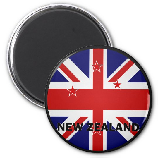 New Zealand Roundel quality Flag Magnet
