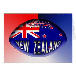 New Zealand Rugby Ball Card