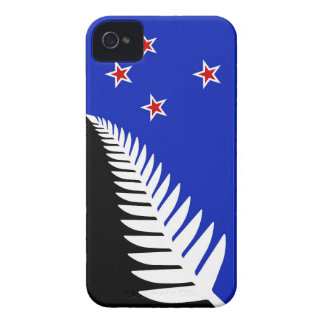 New Zealand Silver Fern Flag iPhone 4 Case