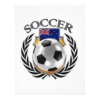 New Zealand Soccer 2016 Fan Gear 21.5 Cm X 28 Cm Flyer