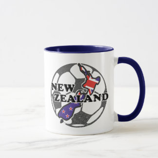 New Zealand Soccer Coffee Mug