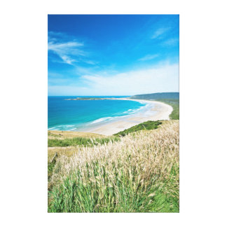 New Zealand, South Island, Catlins, Tautuku Bay Canvas Print