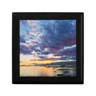 New Zealand, South Island, Kaikoura, South Bay Small Square Gift Box