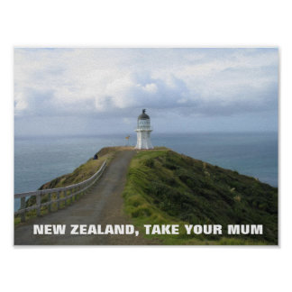 New Zealand Take Your Mum- FOTC Poster