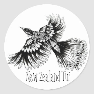New Zealand Tui Sticker