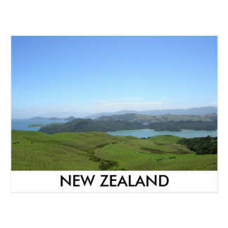 NEW ZEALAND VIEW POSTCARD