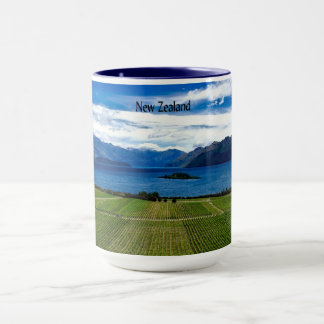 New Zealand Vineyard Mug