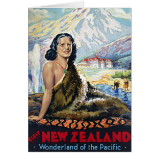New Zealand: Wonderland of the Pacific Greeting Card