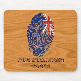 New Zealander touch fingerprint flag Mouse Pad
