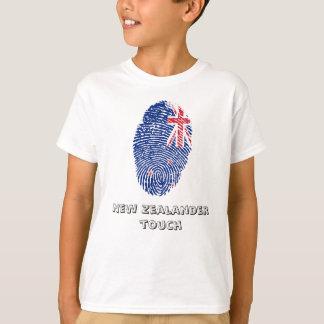 New Zealander touch fingerprint flag T-Shirt
