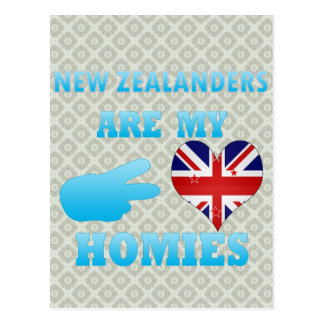 New Zealanders are my Homies Postcard