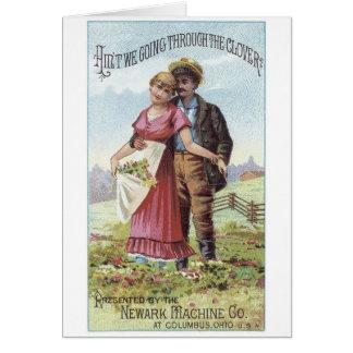 Newark Machine Co Greeting Card