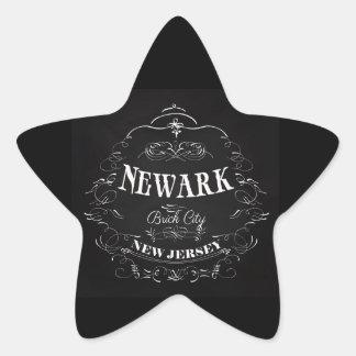 Newark, New Jersey - Brick City Star Stickers