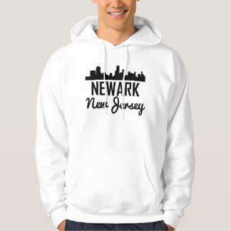 Newark New Jersey Skyline Hoodie