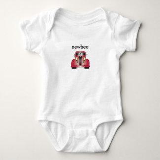 Newborn car baby bodysuit