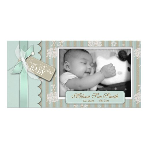 Newborn Photo Card