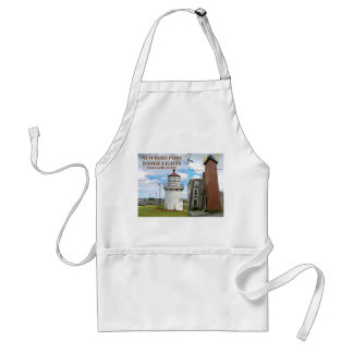 Newburyport Range Lights, Massachusetts Apron