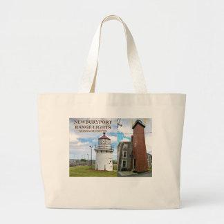 Newburyport Range Lights, Massachusetts Tote Bag