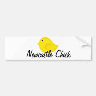 Newcastle Chick Bumper Sticker