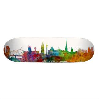 Newcastle England Skyline Skate Board
