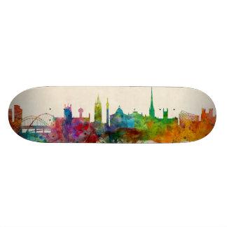 Newcastle England Skyline Skateboard Decks
