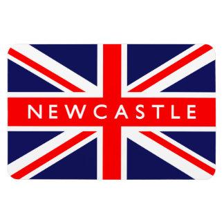 Newcastle UK Flag Magnet