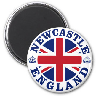 Newcastle Vintage UK Design 6 Cm Round Magnet